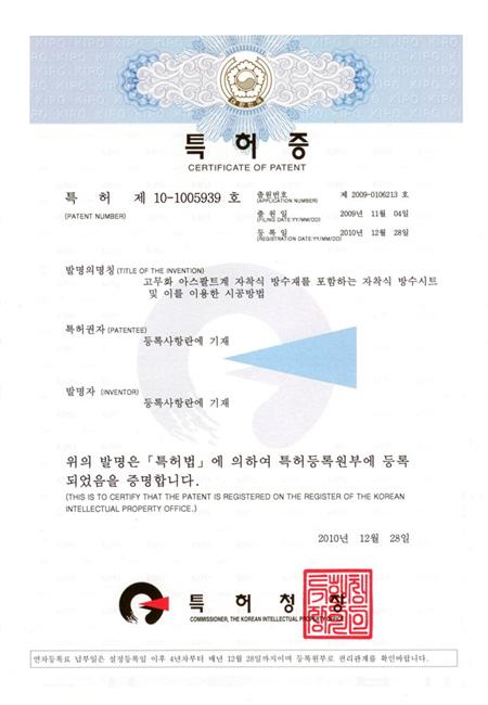 특허(10-1005939)